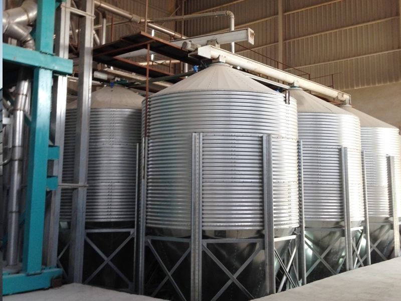 Tapered Silos